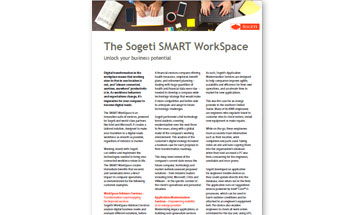 The Sogeti SMART WorkSpace -Unlock your business pontential