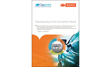 Cybersecurity for the connected vehicle