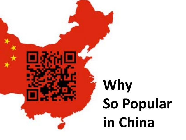 qr popular in china